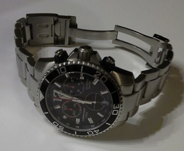 Swiss Diver's Watch