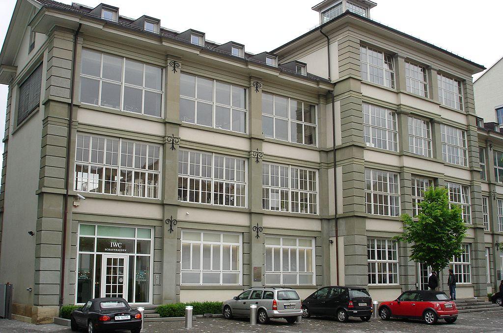 IWC Factory In Schaffhausen