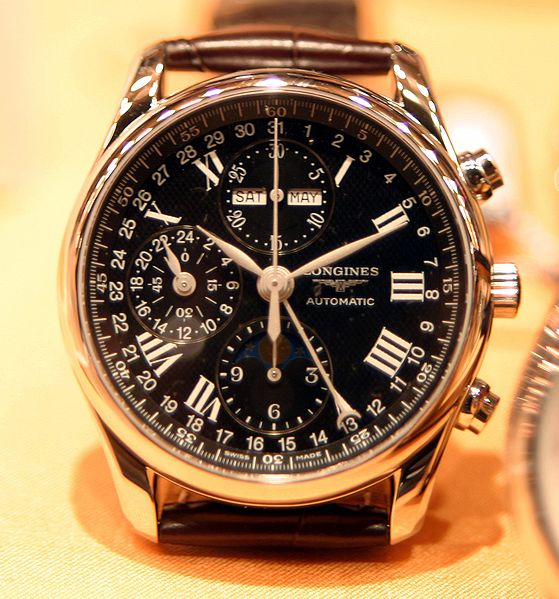 Longines Chronograph Watch