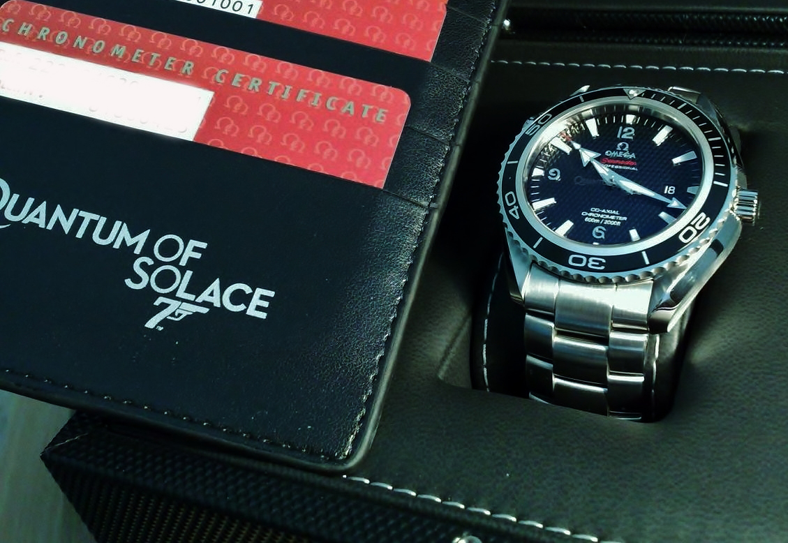 Omega Seamaster Planet Ocean Quantum Of Solace