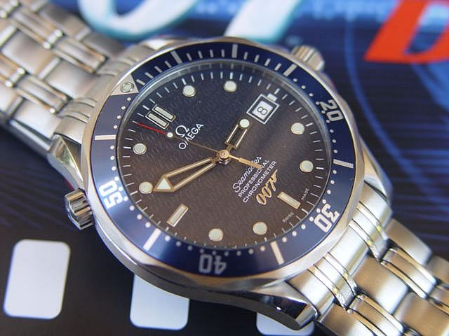 James Bond Omega Seamaster