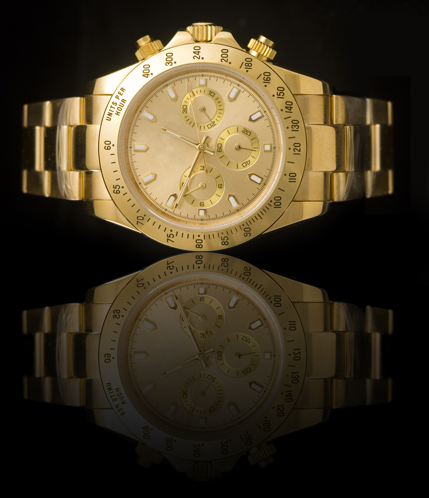 Luxury Watch In Gold