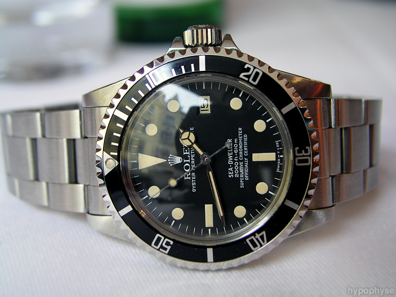 a vintage Rolex Sea Dweller