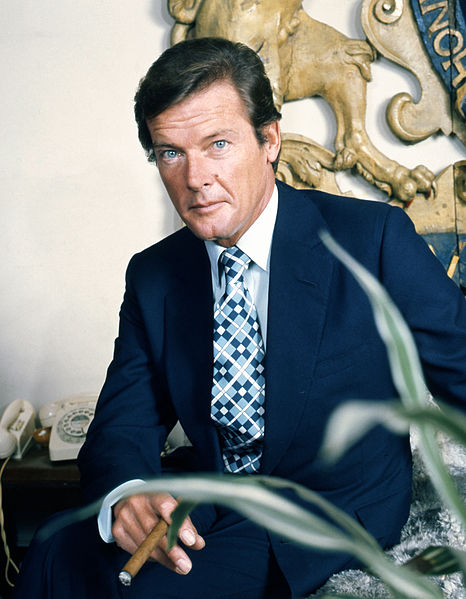 Bond actor Roger Moore