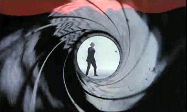 Dr No gun barrel scene